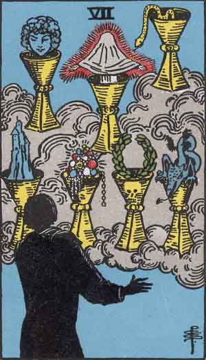 7 of Cups Tarot Card Meaning