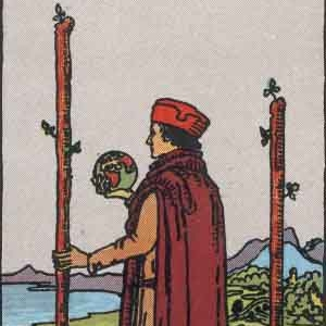 2 of Wands Tarot Card Meaning