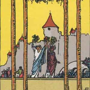 4 of Wands Tarot Card Meaning