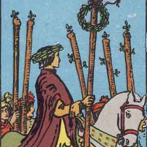 6 of Wands Tarot Card Meaning