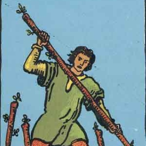 7 of Wands Tarot Card Meaning